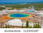 grand prismatic spring in... | Shutterstock . vector #112333187
