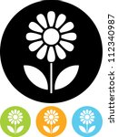 Flower   Vector Icon Isolated