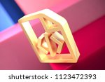 gold file code icon on the pink ...