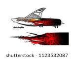 boat decal graphic vector....   Shutterstock .eps vector #1123532087