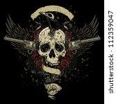 Raven Eating Skull Brains...