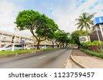 tahiti  french polynesia   june ... | Shutterstock . vector #1123759457