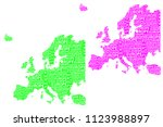 sketch europe letter text... | Shutterstock .eps vector #1123988897