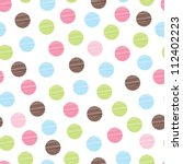 Seamless Pattern  Polka Dot...