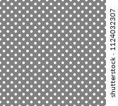 pattern  white polka dots ...   Shutterstock .eps vector #1124032307
