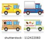 car icon set vector... | Shutterstock .eps vector #112422083