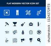 modern  simple vector icon set... | Shutterstock .eps vector #1124272973
