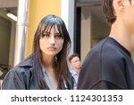 milan  italy   june 16 ... | Shutterstock . vector #1124301353