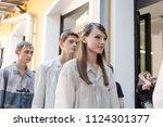 milan  italy   june 16 ... | Shutterstock . vector #1124301377