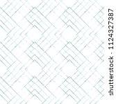 grunge textured rhombs... | Shutterstock .eps vector #1124327387