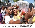 Small photo of AMSTERDAM,NETHERLANDS - JULY 1, 2018: People take part during Bigi Spikri celebration of the Reminding Abolition of Slavery Day on July 1, 2018in Amsterdam,Netherlands.