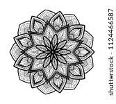 mandalas for coloring  book....   Shutterstock .eps vector #1124466587