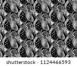mandalas for coloring  book....   Shutterstock .eps vector #1124466593
