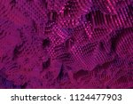 colorful 3d rendering. abstract ... | Shutterstock . vector #1124477903
