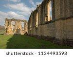 Windows In Abbey Ruins