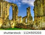 Byland Abbey  Yorkshire Englan...