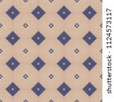 cloth background with geometric ... | Shutterstock . vector #1124573117
