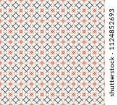 seamless pattern. modern...   Shutterstock .eps vector #1124852693