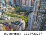 modern city skyline panorama in ... | Shutterstock . vector #1124933297