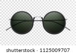 sun glasses isolated on a... | Shutterstock .eps vector #1125009707