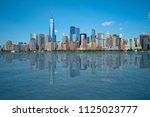 new york city  usa may 24  2018 ... | Shutterstock . vector #1125023777