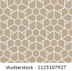 the geometric pattern with... | Shutterstock .eps vector #1125107927