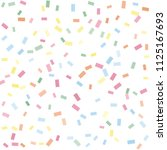 abstract background with many... | Shutterstock .eps vector #1125167693