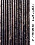 oil drill pipe. rusty drill... | Shutterstock . vector #1125223667