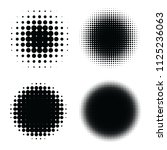 abstract halftone backgrounds....   Shutterstock .eps vector #1125236063