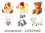 Illustration Of Various Toys O...