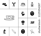 clipart icon. collection of 13... | Shutterstock .eps vector #1125354287