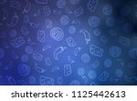 light blue vector cover with... | Shutterstock .eps vector #1125442613