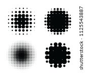 abstract halftone backgrounds....   Shutterstock .eps vector #1125543887