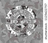much better on grey camouflaged ... | Shutterstock .eps vector #1125622757