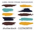 abstract label brush stroke...   Shutterstock .eps vector #1125628553