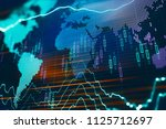 financial chart with assets... | Shutterstock . vector #1125712697
