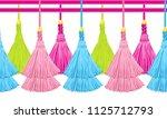 seamless border pattern ...   Shutterstock .eps vector #1125712793