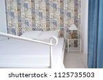 deluxe room colorful interior... | Shutterstock . vector #1125735503