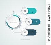 vector illustration information ... | Shutterstock .eps vector #1125744827