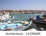 Ayia Napa Harbor On Island Of...