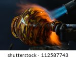 Stock photo blown glass 112587743