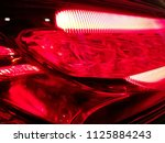 led lamp. hi tech lighting... | Shutterstock . vector #1125884243