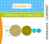 vector infographic   comparison ... | Shutterstock .eps vector #112603667