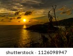 sunset at the sea | Shutterstock . vector #1126098947