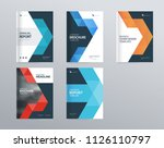 design layout template for... | Shutterstock .eps vector #1126110797