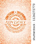 advisory abstract emblem ... | Shutterstock .eps vector #1126272773