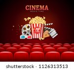 movie cinema premiere poster... | Shutterstock .eps vector #1126313513