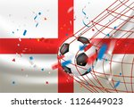 the winner of the match concept.... | Shutterstock .eps vector #1126449023
