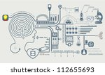 concept of education and... | Shutterstock .eps vector #112655693