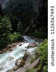 mountain river in abkhazia ... | Shutterstock . vector #1126567493